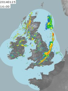Rainfall Radar Image